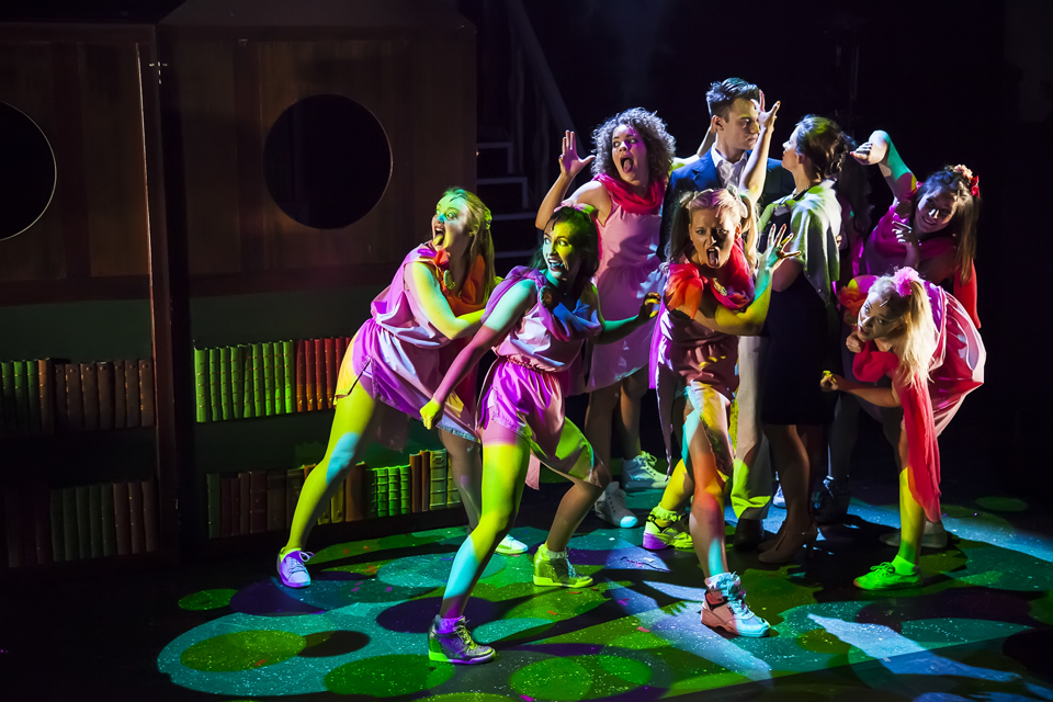Mountview students in Legally Blonde, directed by Dan Herd